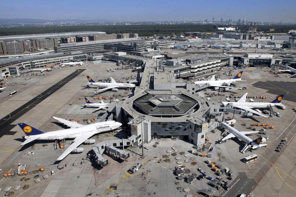 Europas största flygplatser - Frankfurt Am Main